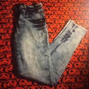 Acid Washed Jeans